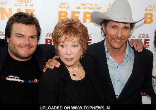 Jack Black, Shirley MacLaine and Matthew McConaughey at the 2011 LA Film Festival