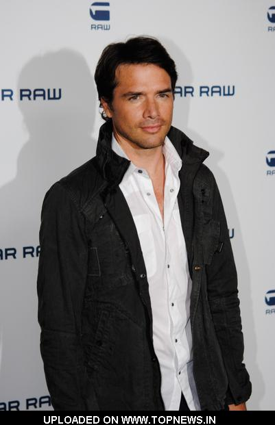 Matthew Settle at Mercedes-Benz Fashion Week Spring 2011 - G-Star Raw Presents NY RAW Special Edition - Arrivals