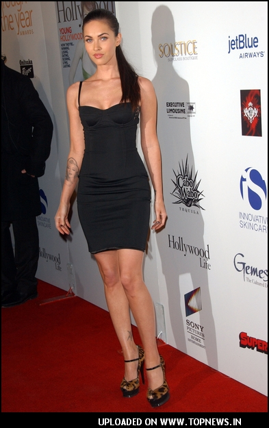 """Megan-Fox"" at Hollywood Life Magazine's 7th Annual Breakthrough of the Year"