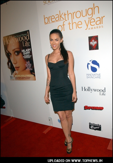 """Megan-Fox"" at Hollywood Life Magazine's 7th Annual Breakthrough of the Year Awards"