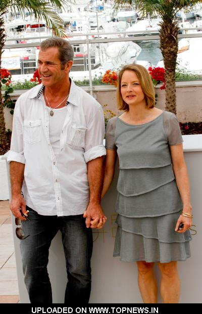 mel gibson cannes film festival. Jodie Foster and Mel Gibson at