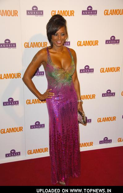 Melanie Brown at Glamour Magazine Woman of the Year Awards 2008 - Arrivals