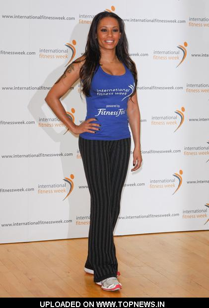 Melanie Brown at Mel B Launches International Fitness Week - Photocall