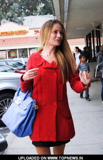 Mia Hope Sighted Shopping in Sherman Oaks