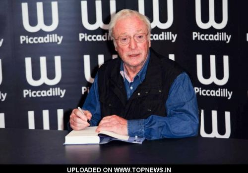 """Michael Caine's """"The Elephant to Hollywood"""" Book Signing at Waterstones Bookshop in Piccadilly on September 30, 2010"""