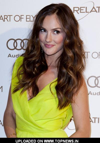 "Minka Kelly at The Art of Elysium 5th Annual ""Heaven"" Gala Black Tie Charity Gala - Arrivals"