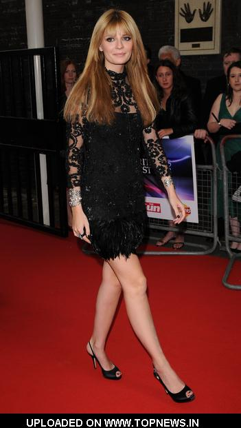 Mischa Barton at Britain's Best 2008 - Arrivals