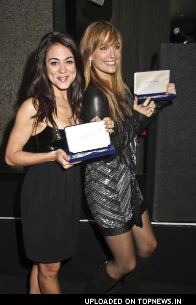 """Molly Sims at """"Las Vegas"""" TV Show Cast Receives a Key to the City at the Palms"""