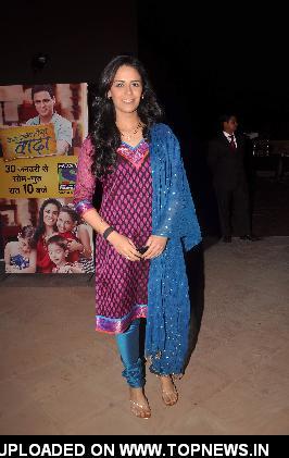 "Mona Singh at Ekta Kapoor launches her new serial ""Kya Hua Tera Wada"" at JW Marriott"