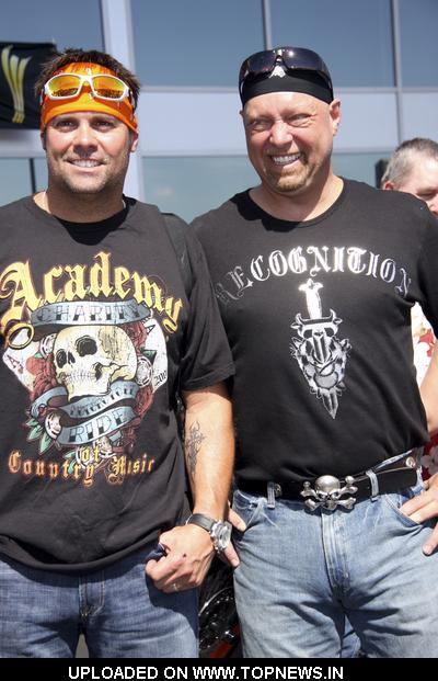 Montgomery Gentry at 5th Annual Academy of Country Music Charity Motorcycle Ride