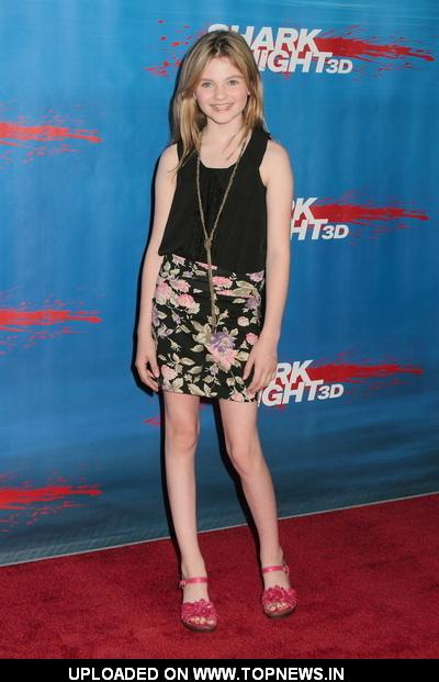 """Morgan Lily at  """"Shark Night 3D"""" Los Angeles Screening - Arrivals"""