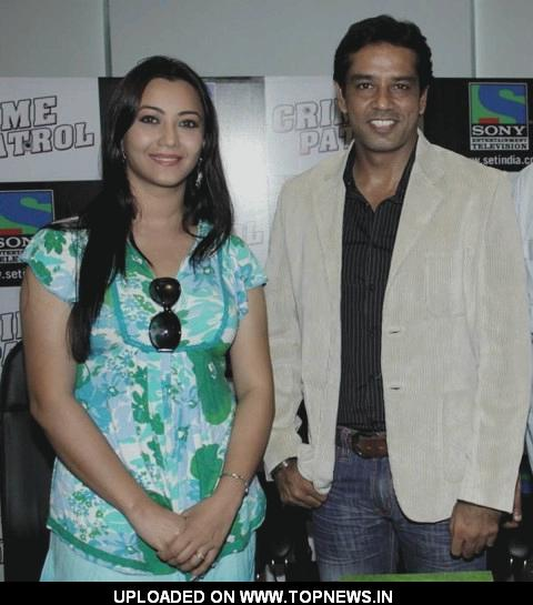 Nausheen Ali at the Press Conference of Second Season of Crime Patrol