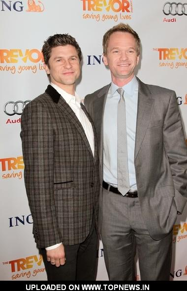 David Burtka and Neil Patrick Harris at The Trevor Project's 2011 Trevor Live! - Arrivals