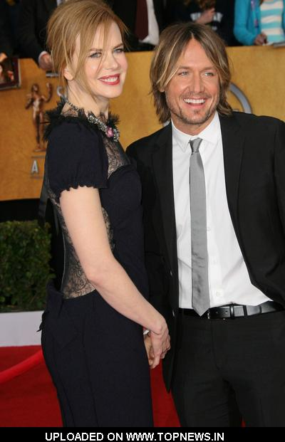 Nicole Kidman and Keith Urban at 17th Annual Screen Actors Guild Awards - Arrivals