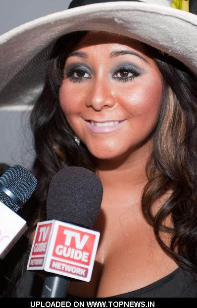 "Nicole ""Snooki"" Polizzi at ""Beautiful Eyes"" by Frownies Launch Party - Arrivals"