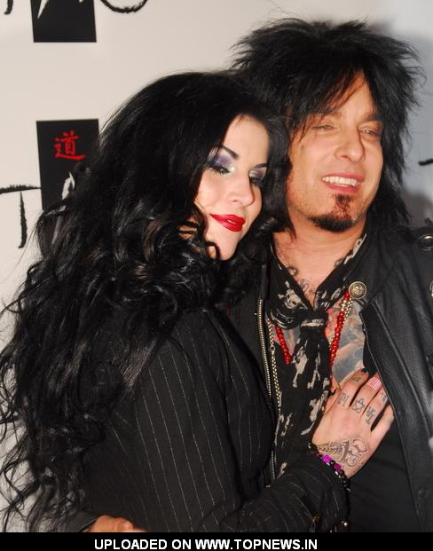 "Nikki Sixx bat Kat Von D Celebrates the Launch of Her New Book ""High Voltage"