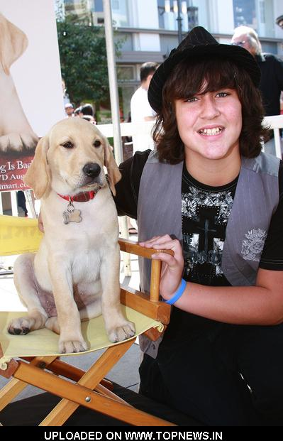 "Noah Dahl at ""Marley & Me: The Puppy Years"" Blu-Ray and DVD Premiere Party"