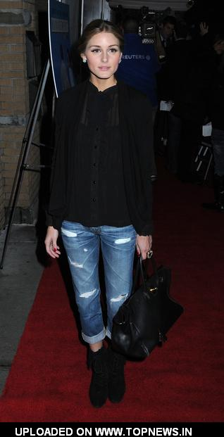 "Olivia Palermo at The Cinema Society and Tommy Hilfiger with Svedka Vodka Host a Screening of ""Management"""