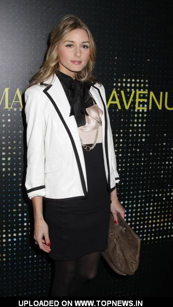 Olivia Palermo at Armani/5th Avenue Store Grand Opening Celebration - Arrivals