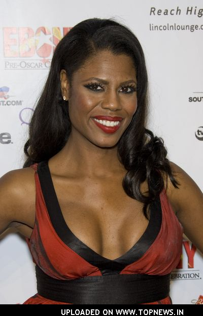 Omarosa Manigault-Stallworth at Ebony Pre-Oscar Celebration