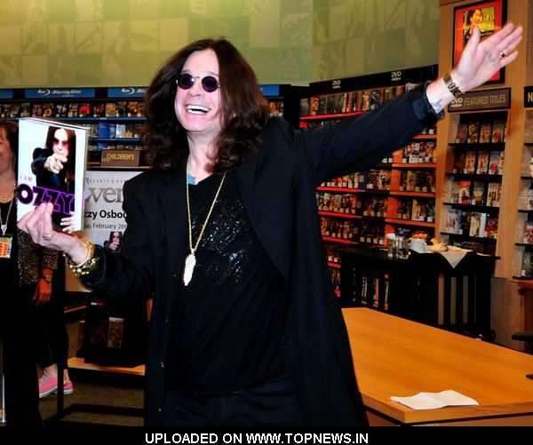 Ozzy Osbourne 39 S I Am Ozzy Book Signing At Barnes And Noble Booksellers In Palm Beach Gardens