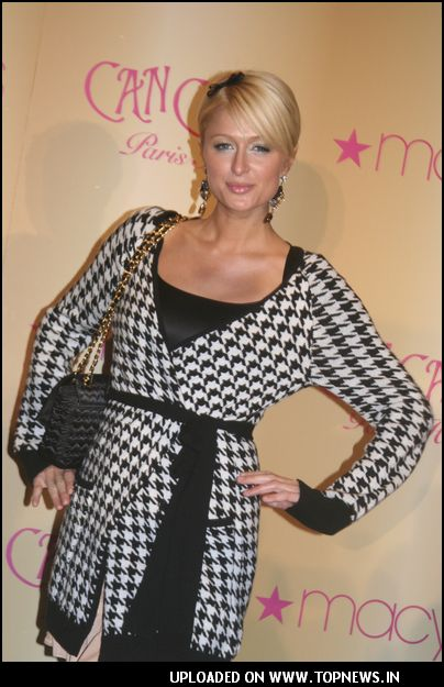 "Paris Hilton Unveils Her New Fragrance ""Can Can Paris Hilton"" At Macy's in Philadelphia"