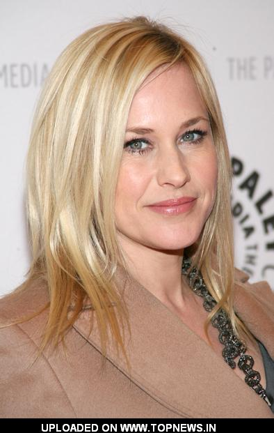 "Patricia Arquette at Patricia Arquette Question & Answer Session For Her Directorial Debut of ""Medium"" - Arrivals"