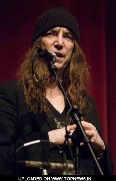 "Patti Smith Discusses and Signs New Book, ""Just Kids"" at Harold Washington Library Chicago"