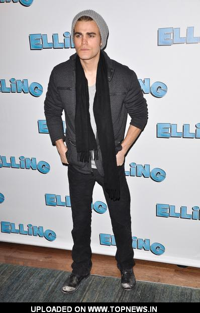 "Paul Wesley at ""Elling"" Broadway Opening Night - After Party"