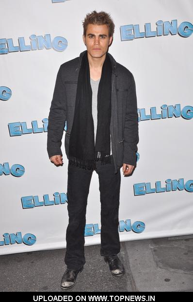 "Paul Wesley at ""Elling"" Broadway Opening Night - Arrivals"