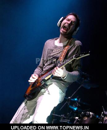Paul Gilbert at Joe Satriani in Concert at the Manchester Apollo - May 15, 2008