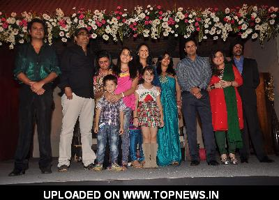 "Pawan Shankar, Mona Singh, Delnaaz Paul at Ekta Kapoor launches her new serial ""Kya Hua Tera Wada"" at JW Marriott"