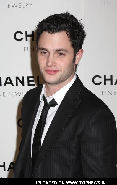 Penn Badgley at Chanel Fine Jewelry - Night of Diamonds - At the Plaza in NYC