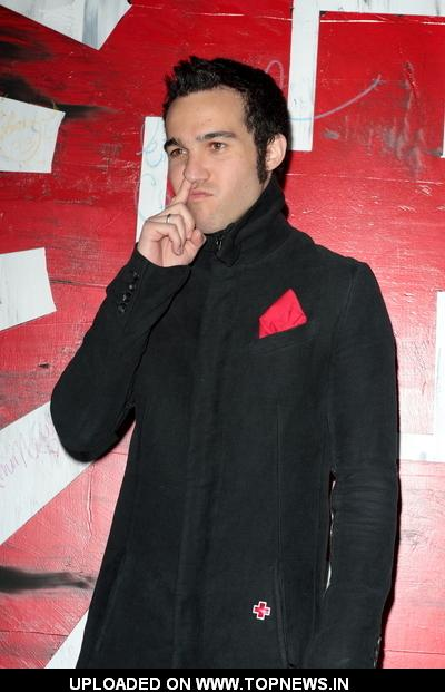 pete wentz 2011. Pete Wentz at The American Red