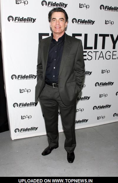 "Peter Gallagher at Fidelity FutureStage ""The Future of Broadway is Now"" - Arrivals"
