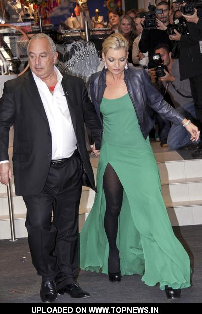 Philip Green at Topshop and Topman Clothing Store New York City Grand