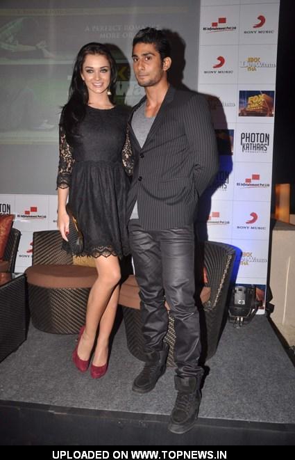 Prateik Babbar and Amy Jackson at Ek Deewana tha press meet