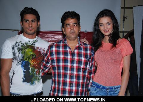 "Lawman Page 3 style partner Phoot Shoot with Prateik Babbar and Amy Jackson for film ""Ek Tha Deewana"""