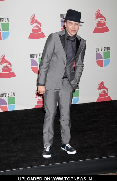Prince Royce at 11th Annual Latin GRAMMY Awards - Press Room