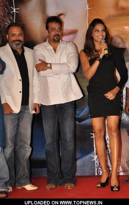 "Producer-Bunty Walia, Sanjay Dutt and Bipasha Basu at Music Launch of Movie ""Lamhaa"""