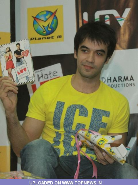 Punit Malhotra at DVD Launch of I Hate Luv Storys