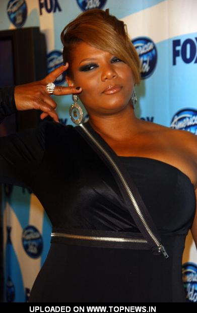Queen Latifah at 2009 American Idol Finale - Press Room