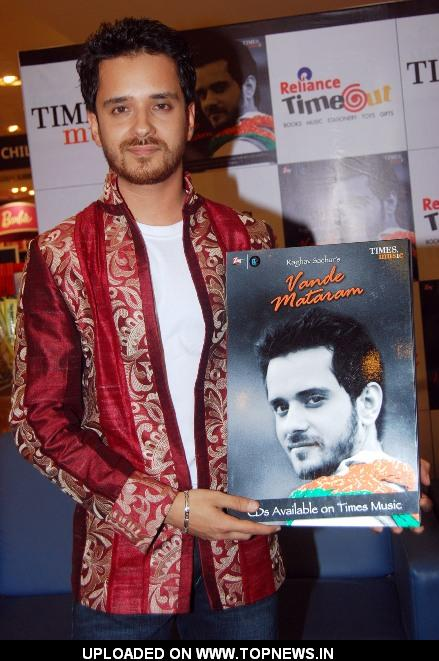 Raghav Sachar launches album 'Vande Mataram'