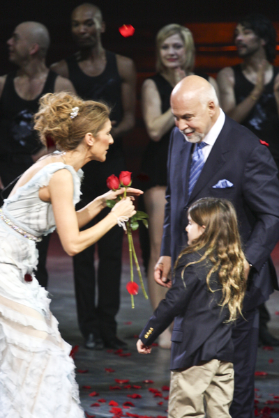 celine dion and renee