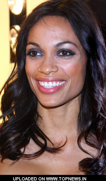 Rosario Dawson at Roberto Cavalli Store Launch Party - Arrivals