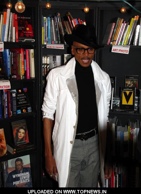 "RuPaul's ""Workin It"" Book Signing at Book Soup in West Hollywood"