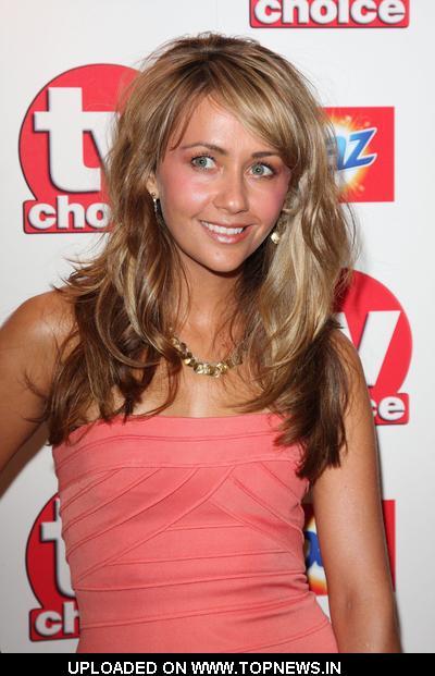Samia Smith at TV Choice Awards 2010