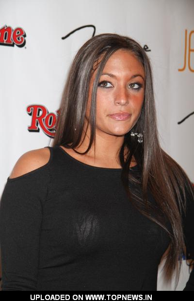 Sammi Giancola at Rolling Stone VIP Hot Issue Party at JET in Las Vegas on October 1, 2010