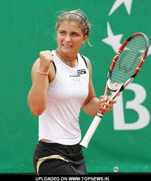 Sara Errani at Sony Ericsson WTA Tour 2008 Rome