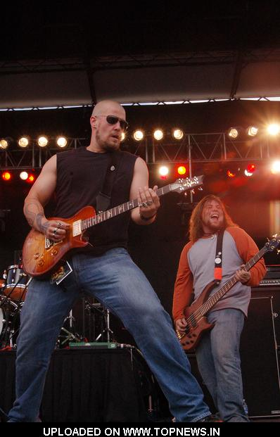 Saving Abel at Rock on the Range 2008 - Day 2